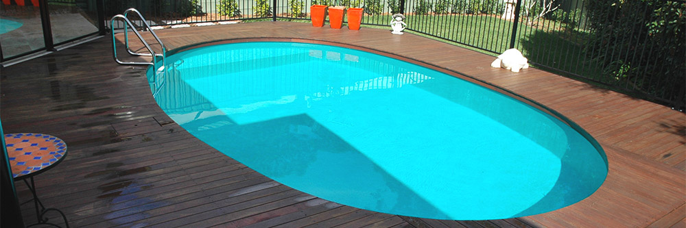 pool coping decking
