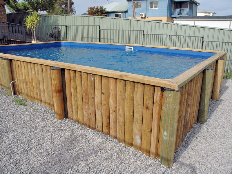 Brightwaters above ground pool paradise pools australia for In ground swimming pool contractors