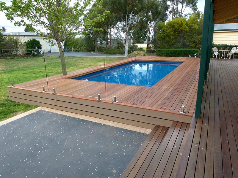 Decking Tiling Or Paving Over Pool Coping Paradise