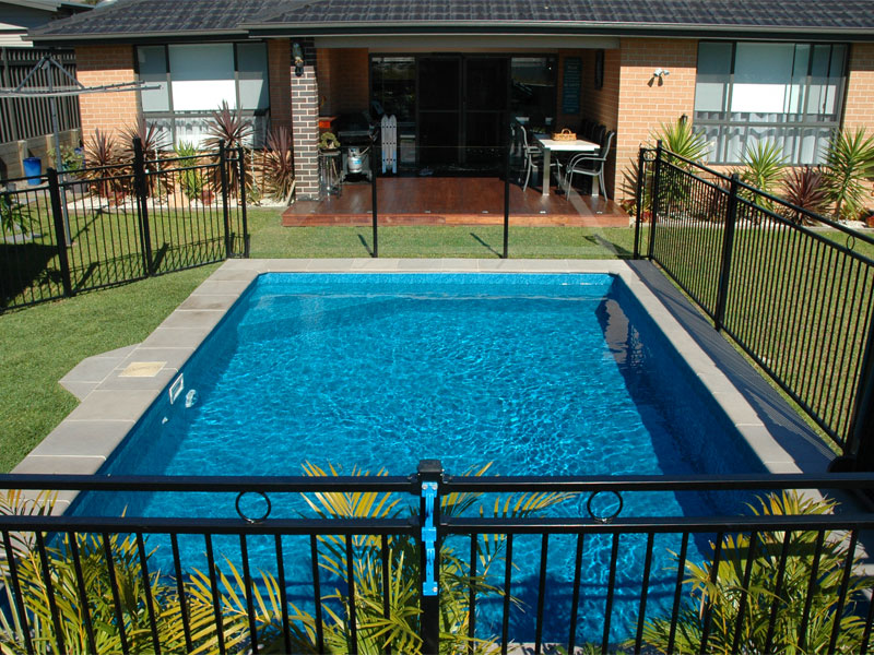 NSW - Brightwaters custom 6 x 4 Pacific, fully inground pool with paved coping